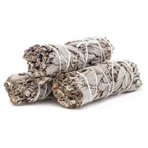 2 White sage smudging sticks